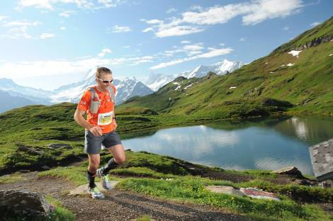 Ueli Steck am Eiger Ultra Trail E51