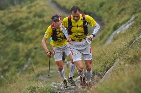 Transalpine Run - Lead Team mit Iker Karrera