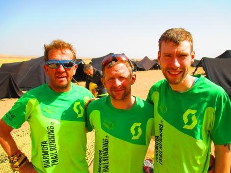Team Marmotta - kein Wüstenratten sondern Sand-Murmeltiere