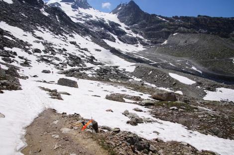 Alpine Trails soweit das Auge reicht