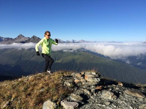 Soul-Running in den Bergen © Guy Nunige