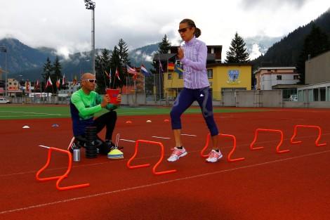 Hartes Training gehört zum Alltag © Patrick Badie