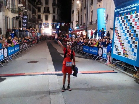 Finishline in Chamonix © UTMB